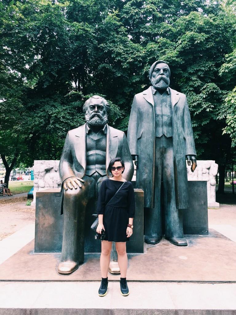 Photobombed by Marx & Engels
